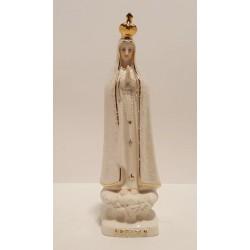 N. Sra. de Fátima em Porcelana com Manto Pérola