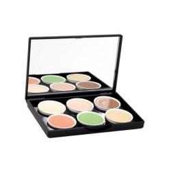 Concealer Make-Up Palette - 6 Tons